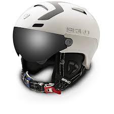 Briko Stromboli 1 Visor Unisex Ski Helmet Colour White