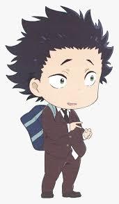 Including transparent png clip art. Anime Png Tumblr Koe No Katachi Chibi Transparent Png Kindpng