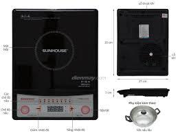 Bếp Điện Từ Cơ Sunhouse SH6150 - Hàng chính hãng