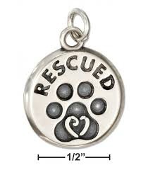 sterling silver dog bone pendant with