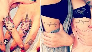 20 Nápadů Na Tetování Pro Best Friends A Spřízněné Duše Ockotv
