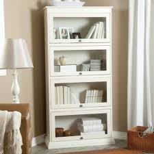 Stunning White Bookcase With Glass Doors Sale Living Room Ideas  Curtains And Lamps Unique Bookshelves For Sale U64