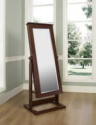 Dressing Mirror Cabinet Standing Mirror With Jewelry Storage