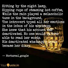 Sitting By The Night Lamp Quotes Writings By Akash Ghoshal
