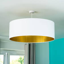 oversize gold lined ceiling pendant shade 40 colours