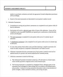 Free 32 Nursing Assessment Examples In Pdf Doc Examples