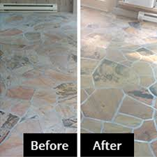 before after enhancing stone gallery cleaning sealing makes a huge difference