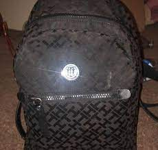 Black Tommy Hilfiger backpack for sale in Rancho Cordova, CA - 5miles: Buy  and Sell