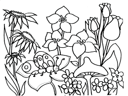 Coloring Pages Free Spring Summer Season Coloring Pages Free