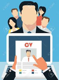 job interview concept business cv resume royalty job interview concept business cv resume stock vector 40187885