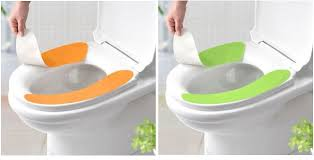 cushioned toilet seat covers. latest non trace adhesive closestool mat disposable toilet seat cover magic cushion pad-in from home \u0026 garden on cushioned covers u