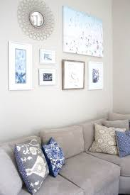 For Wall Art In Living Room Diy Gallery Wall Art Peachfully Chic