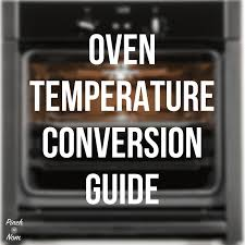Fan Oven Conversion Chart Oven Temperature Conversion Guide Pinch Of Nom Slimming