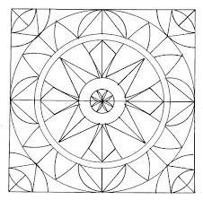 geometric coloring pages for kids. Delighful Pages Free Printable Stained Glass Patterns  Pm Geometric Pattern Coloring  Posted By Admin Under My Patterns Throughout Geometric Coloring Pages For Kids I