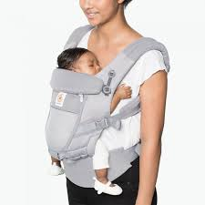 Mesh Baby Carrier | Newborn to Toddler | Grey | Ergobaby