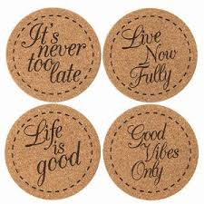 Custom cork coasters Corkboard Swag Brokers Custom Cork Coasters For Drinks Csr119 Swag Brokers