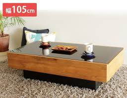 center table wooden nights center table black glass shelf drawers nordic modern fashion simple living room table center table drawer with storage with wood