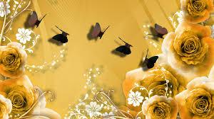 Golden Rose Wallpaper Hd ...