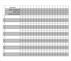 Grade Book Template Microsoft Word Proposal Layout Templates Bidary