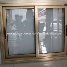 office sliding window. China Office Aluminum Sliding Window, Double Glazed, Window N