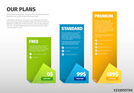 Pricing Chart Layout Buy This Stock Template And Explore
