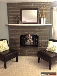 painting a brick fireplace white brick fireplace diy chaseoftanks info