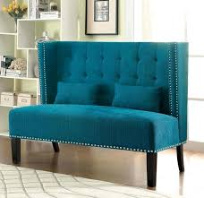 High Back Loveseat Bench F8