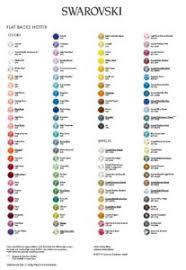 Swarovski Colour And Size Charts Beadfx