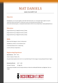 Resume Tips 2017 Simple Updated Resume 28 Docs Template