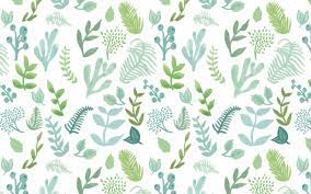 Plant Pattern Wallpapers - Top Free ...