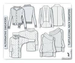 Sweater Design Template
