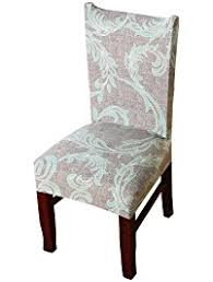 dining chair covers. Khalee Super Fit Stretchable Short Dining Chair Covers