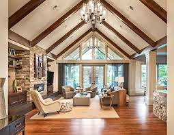 unique vaulted ceiling wall decor beautiful living room cathedral ideas