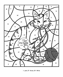 Small Picture Number Coloring Pages Games Coloring Pages