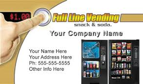 Vending Machine Placement Companies Beauteous Vending Machines Business Cards Get Vending Locations Business
