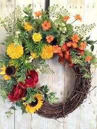 front door wreaths for summerFront Door gorgeous spring front door wreath for home design Diy