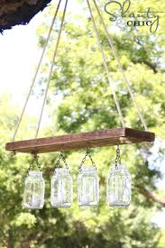 rustic solar lights mason jar lights outdoor mason jar chandelier ideas with mason jars for outdoor rustic outdoor solar lights
