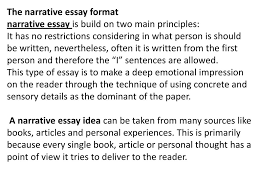 narritive essay narrative essay ppt download