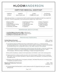 Free Medical Assistant Resume Template Beauteous Medical Assistant Sample Resume Best Objective Dermatology Office