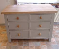 freestanding drawer stack the drawers in this island are fully telescopic and soft close