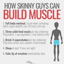 HOW SKINNY GUYS CAN BUILD MUSCLE BY @jmaxfitness - If you're a skinny guy,  you need a different approach to … | Ectomorph workout, Workout plan for  men, Skinny guys