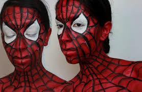 spiderman face paint makeup spider man face paint tutorial