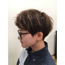 刈り上げ女子 Picka The Salonピッカザサロンのヘアスタイル