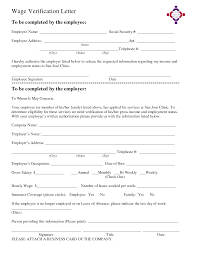 Best Photos Of Income Verification Letter Template Employer Income