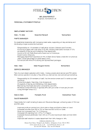 Gallery Of Resume Cv Example