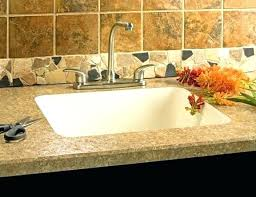 amazing bathroom sink countertop one piece built in sink all in one sink and one piece