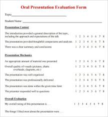 Powerpoint Presentation Evaluation Form Powerpoint Presentation Evaluation Template Smartbykrae