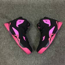 jordan shoes for girls black and pink. classic air jordan 7 improved dark black pink shoes,jordan shoes for girls, space jams red,coupon codes girls and