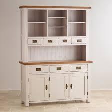 White Kitchen Dresser Unit Dressers Oak Furniture Land
