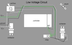 12 volt circuit the white and green wires on the left are connected to a key on wire via the terminal strip as shown in the photo below the white wires carry 12 volts to